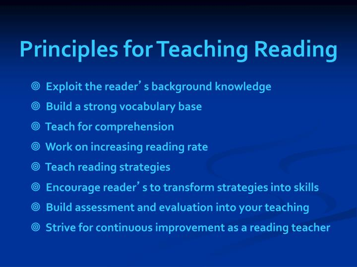 a report on five instructional strategies of increasing reading fluency among students The best strategy for developing reading fluency is to provide your students with many in reading activities for students to increase teaching strategies.