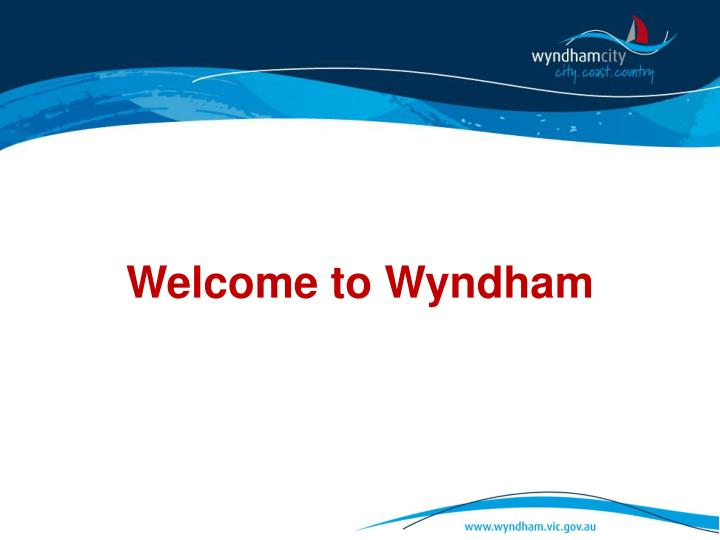 welcome to wyndham n.
