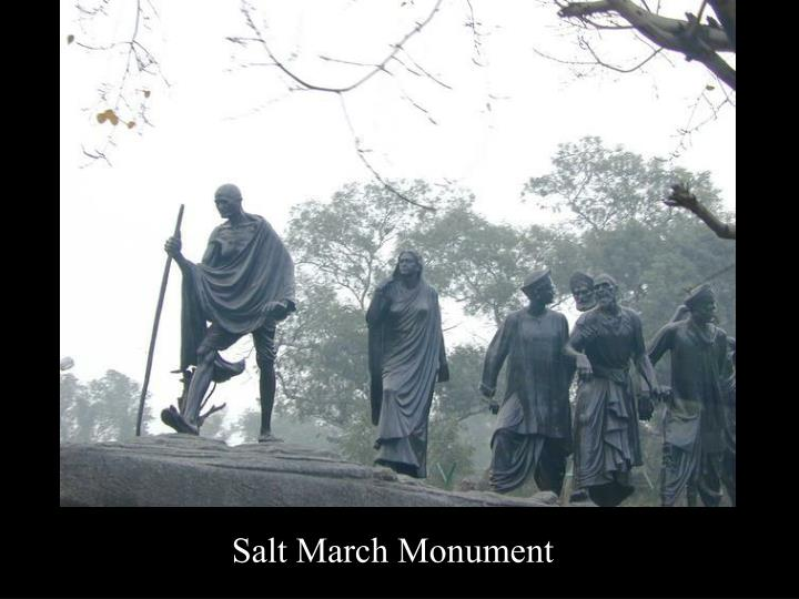 Salt March Monument