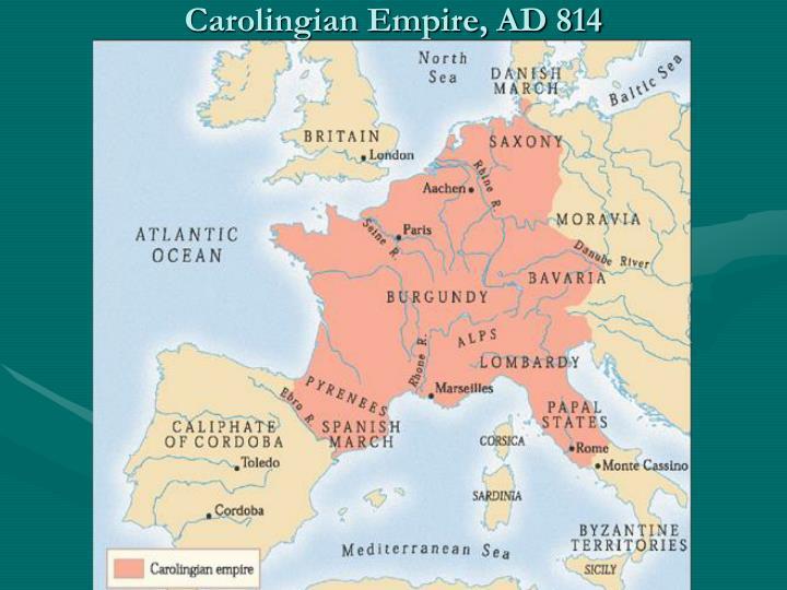 Carolingian Empire, AD 814