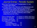 journal entries periodic system1