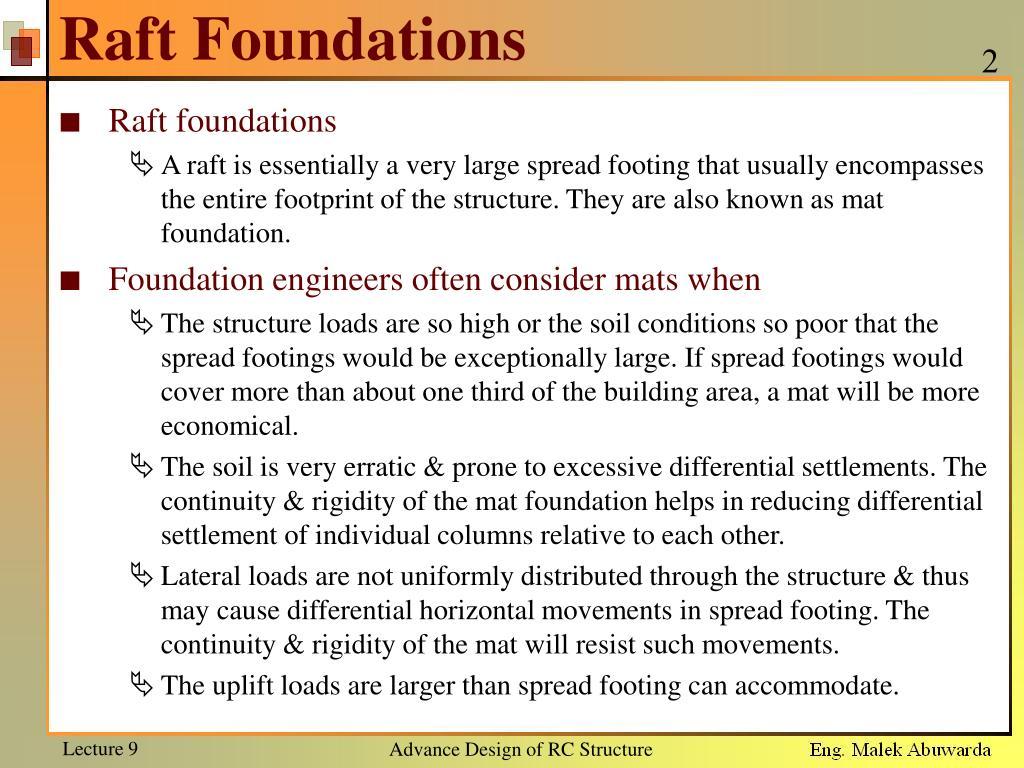 Raft Foundation Design Software Free Download