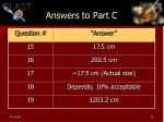 answers to part c1