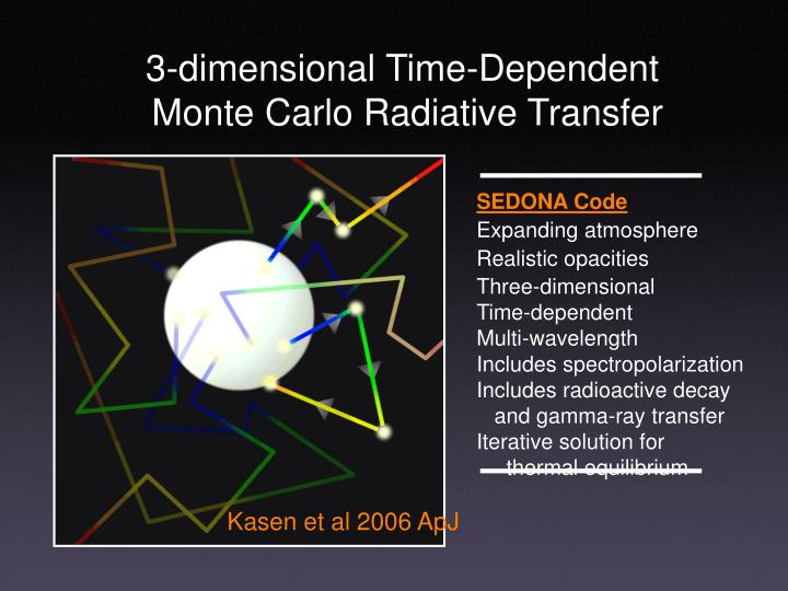 3-dimensional Time-Dependent