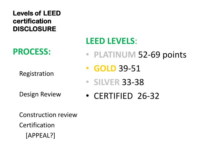 Ppt greening commercial leases a business response to for Advantages of leed certification