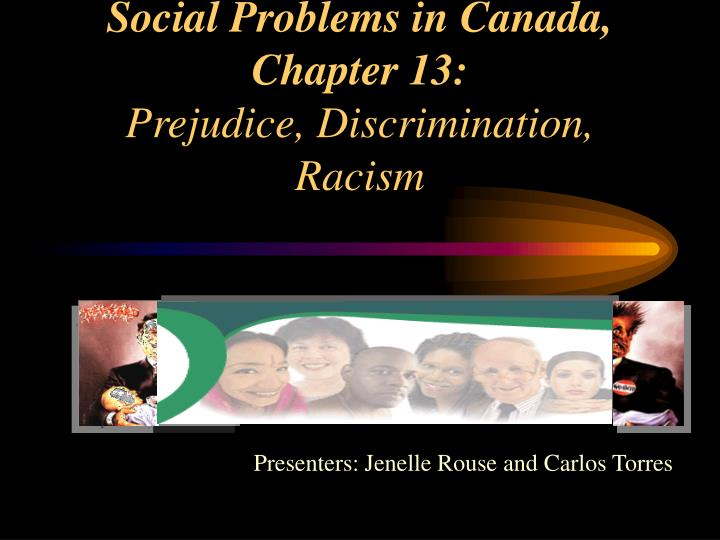 social problems chapters 1 3 Social problems: continuity and change certainly does not minimize the persistence of social problems, but neither does it overlook the possibilities for change offered by social research and by the activities of everyday citizens working to make a difference.