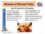 wisdom of michael fullan1