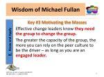 wisdom of michael fullan12