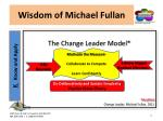 wisdom of michael fullan13