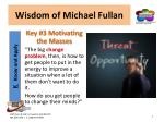 wisdom of michael fullan7