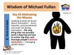 wisdom of michael fullan9