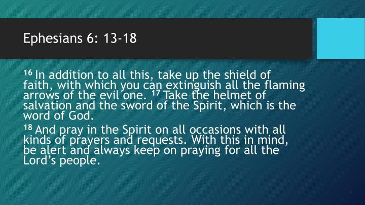 Ephesians 6 13 182