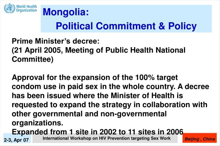 Mongolia:
