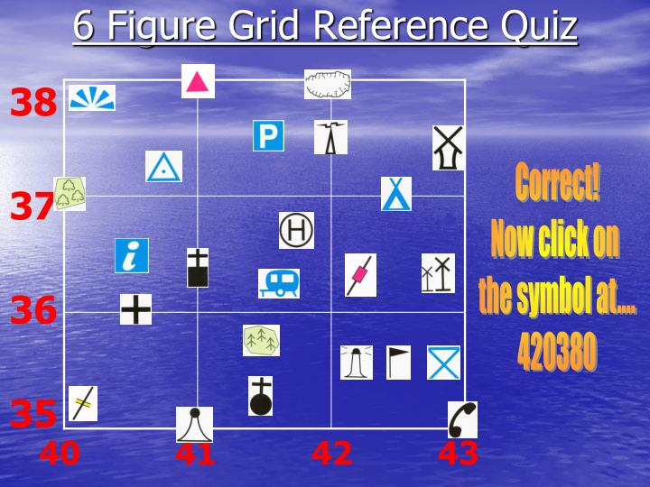 6 Figure Grid Reference Quiz 38