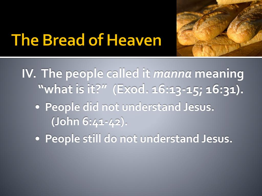 PPT - John 6:1-51 PowerPoint Presentation, free download