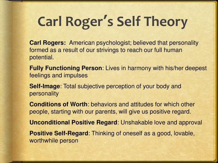 self theory by carl roger