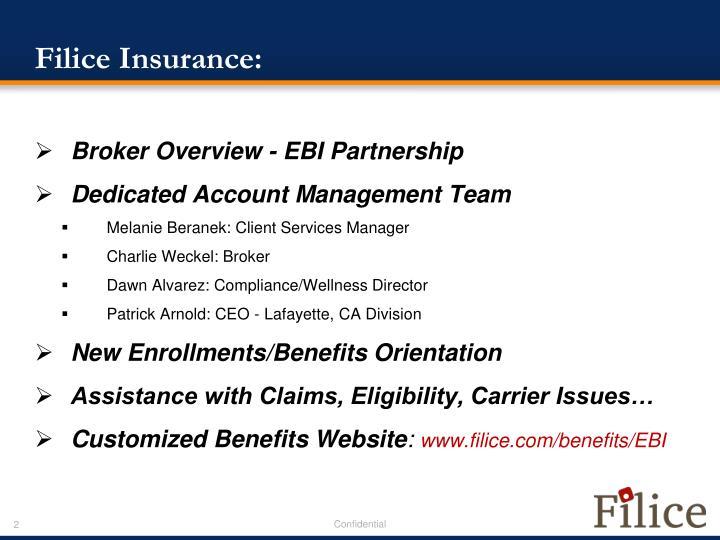Filice insurance