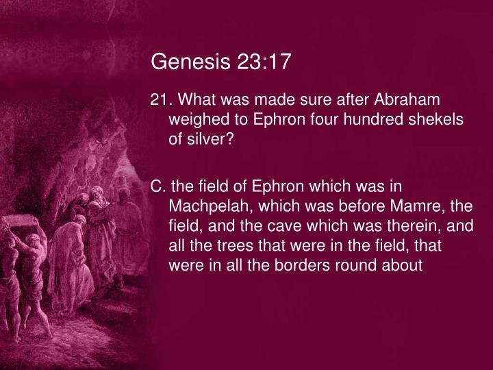 Genesis 23:17