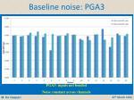baseline noise pga3