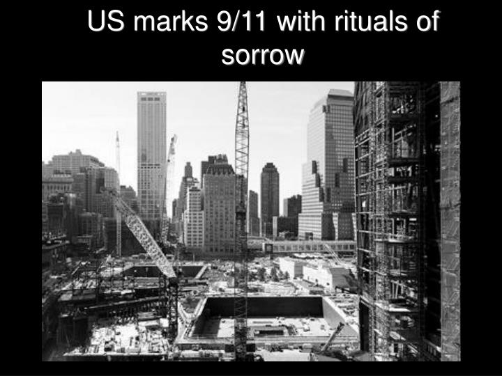 us marks 9 11 with rituals of sorrow n.