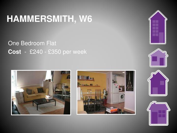 HAMMERSMITH, W6