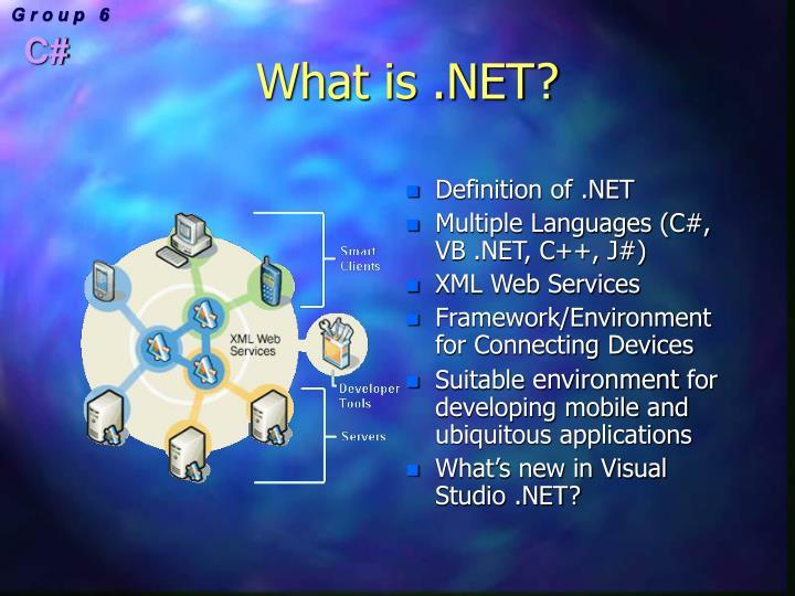 What is .NET?