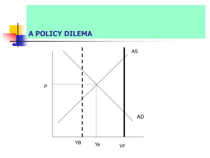 A POLICY DILEMA