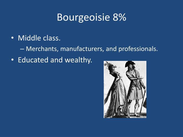 Bourgeoisie 8%