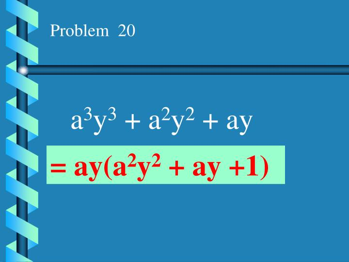 Problem  20
