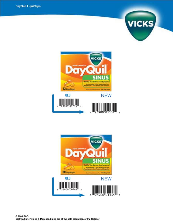 DayQuil LiquiCaps