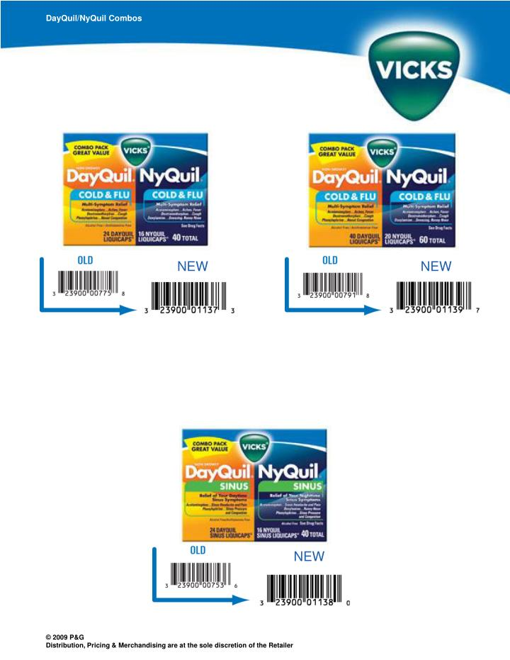 DayQuil/NyQuil Combos