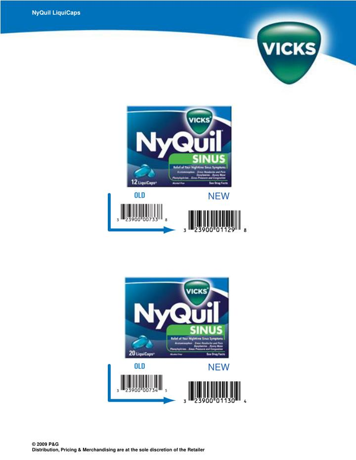 NyQuil LiquiCaps