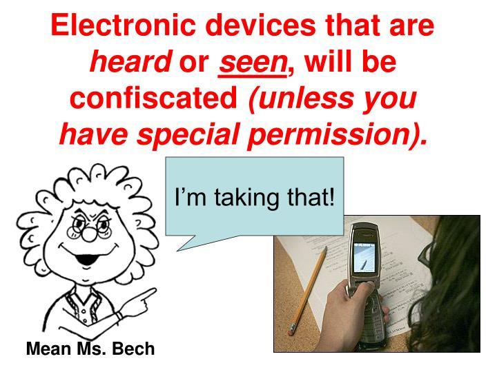 Electronic devices that are