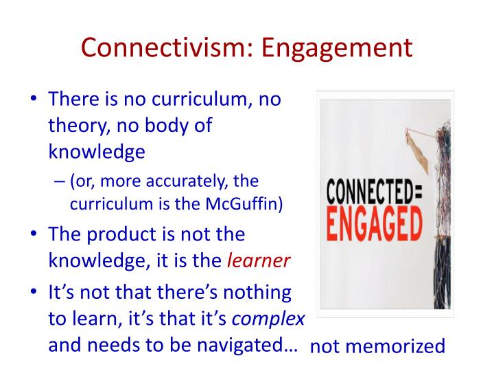 Connectivism: Engagement