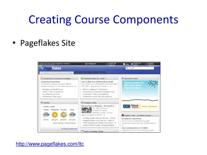 Creating Course Components