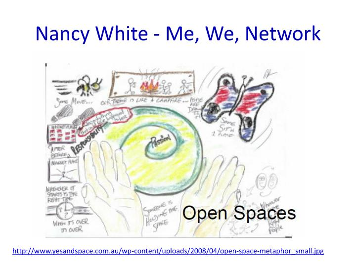 Nancy White - Me, We, Network
