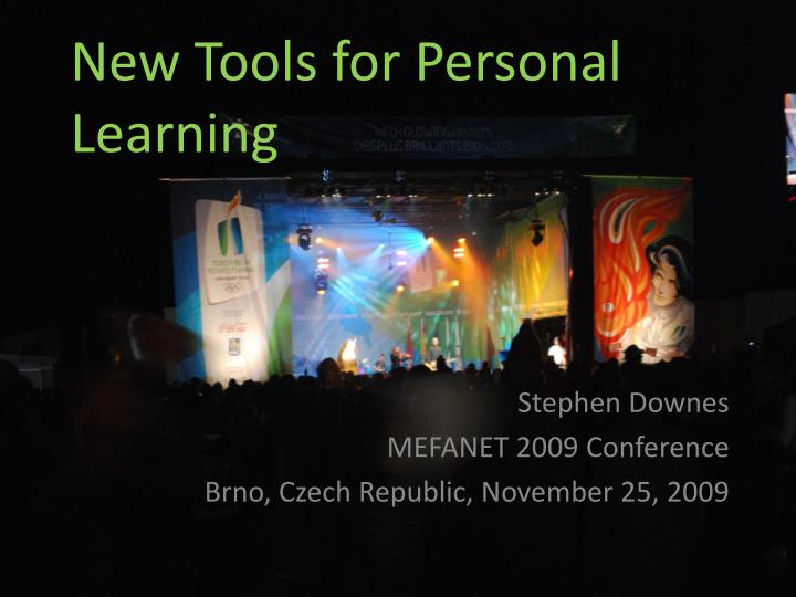 New tools for personal learning