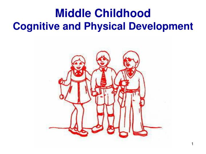 physical and cognitive development in middle childhood Physical and cognitive development in early childhood - chapter summary and learning objectives use the lessons in this chapter to study the incredible rate of brain development and physical.