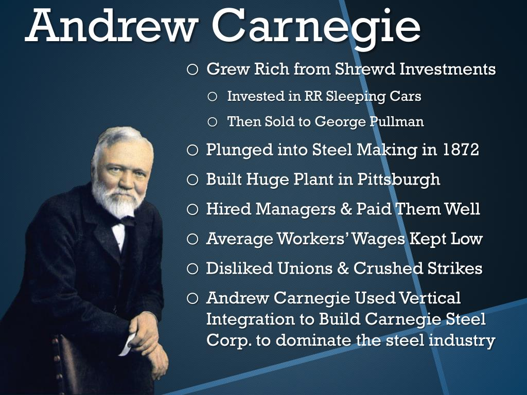 Ppt Robber Barons Business In The Gilded Age Powerpoint