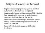 religious elements of beowulf