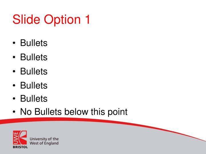 Slide option 1