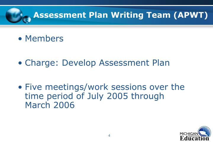 Assessment Plan Writing Team (APWT)