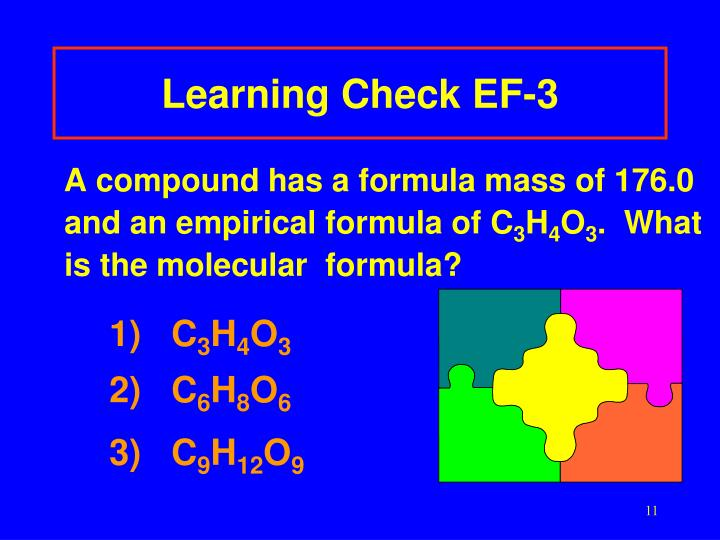 Learning Check EF-3