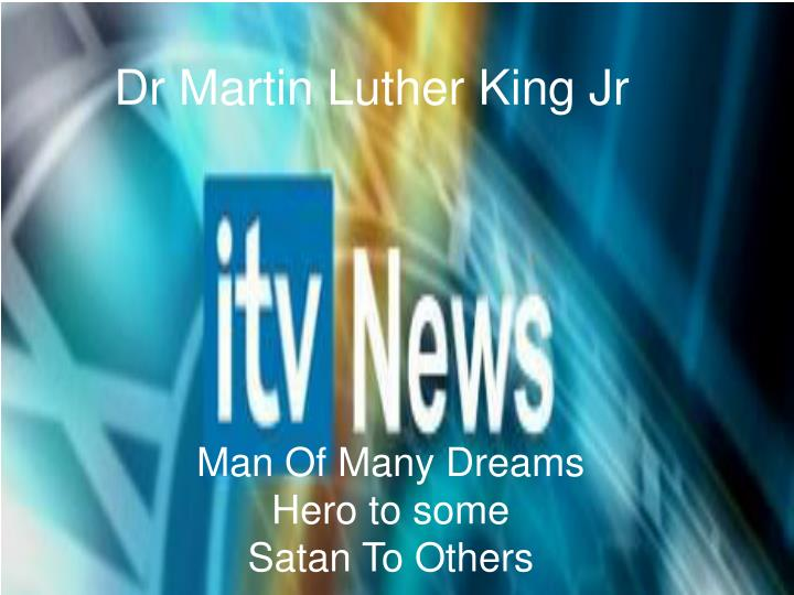 dr martin luther king jr n.