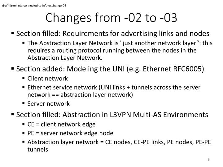 Changes from 02 to 031