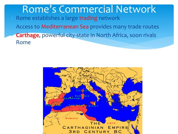 Rome's Commercial Network