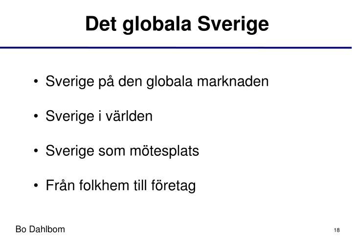 Det globala Sverige