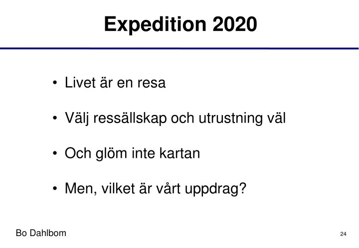 Expedition 2020