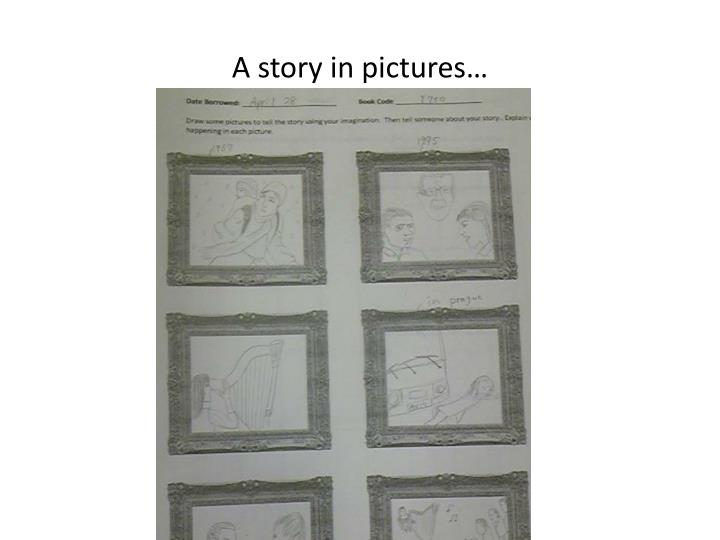 A story in pictures…