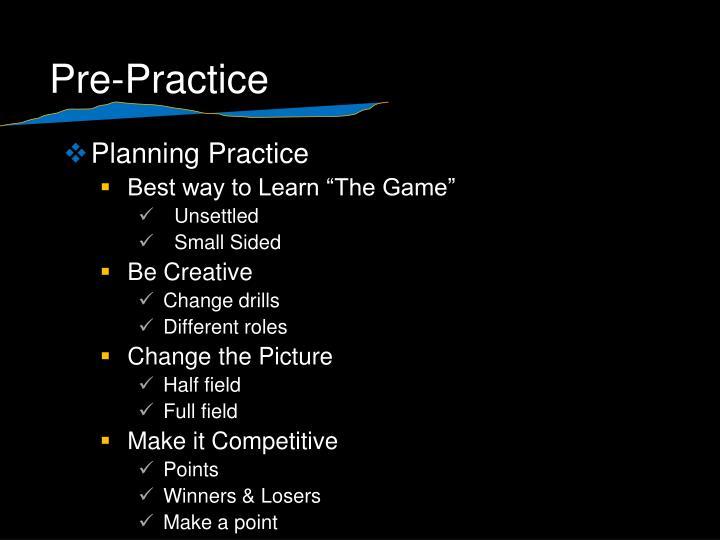 Pre practice1